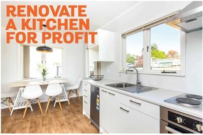 Renovate a kitchen for profit